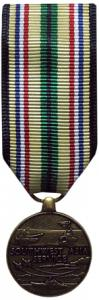 southwest asia service military medal