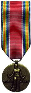 world war II victory military medal