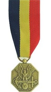 Navy and Marine Corps Medal miniature military medal