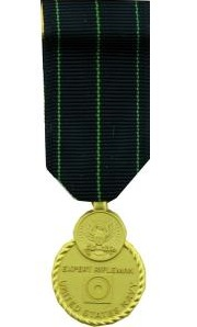 Navy Rifle Marksmanship Miniature Military Medal
