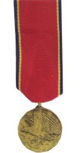 naval reserve mini military medal