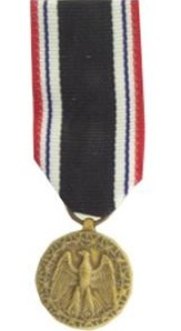 Prisoner of War Miniature military Medal