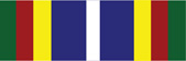 Coast Guard Bicentennial Unit Commendation Military Ribbon