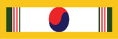 Korean Presidential Unit Citation  Military Ribbon