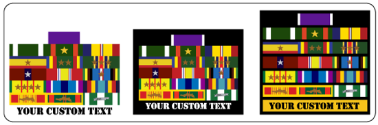 military sticker decals for army, marine corps, navy, air force and coast guard