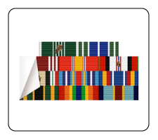 military ribbon stickers and decals
